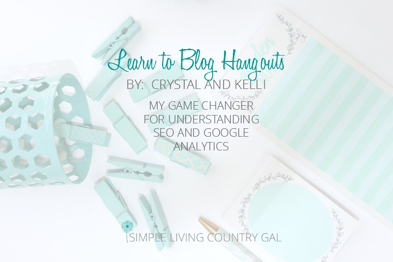Learn To Blog Hangouts: Understanding SEO And GA