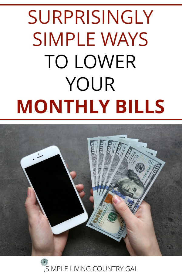 help LOWER MY BILLS