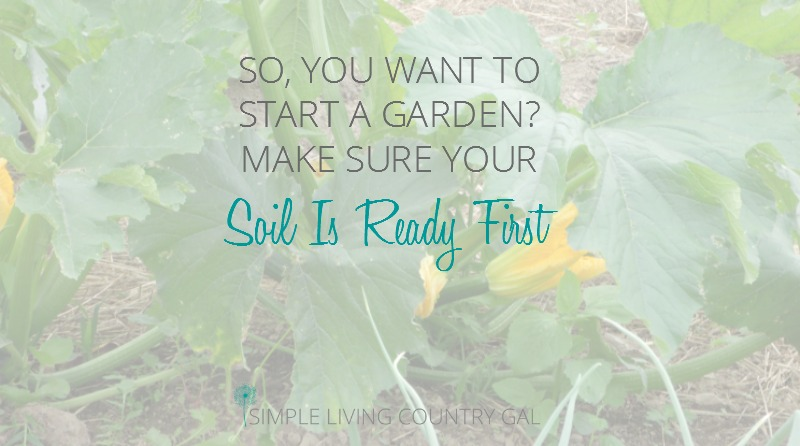 How to Start a Garden – Prepping Your Soil