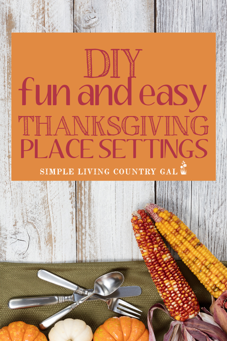 DIY thanksgiving planners