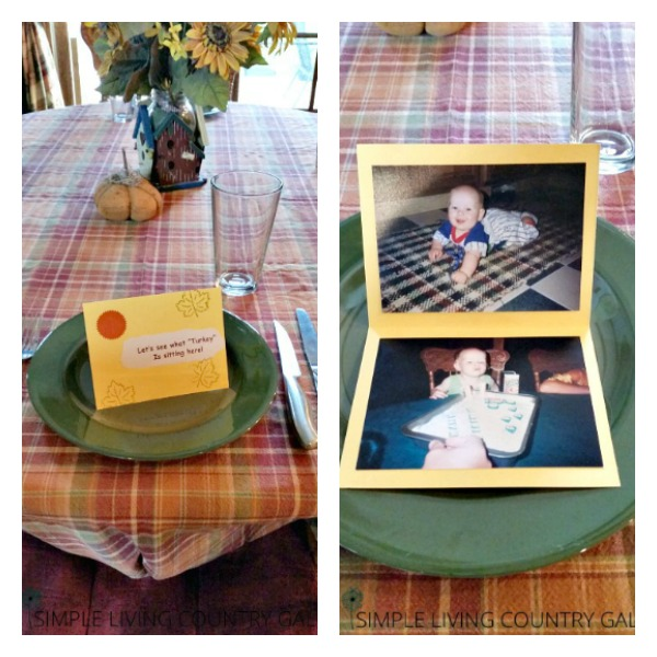 diy thanksgiving place settings