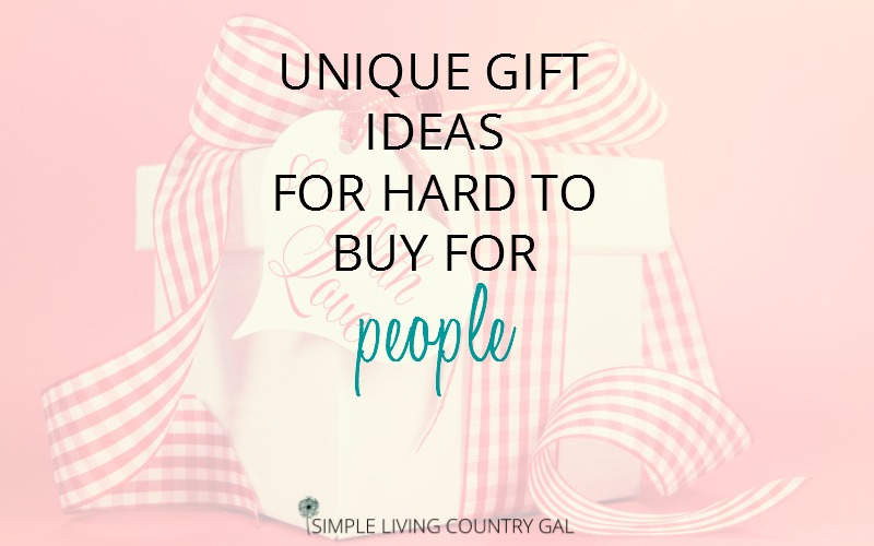 Unique Gifts For Men and Unique Gifts For Women – Ideas For The Impossible To Buy For!