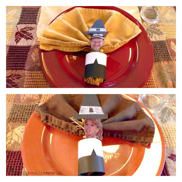 thanksgiving place settings diy