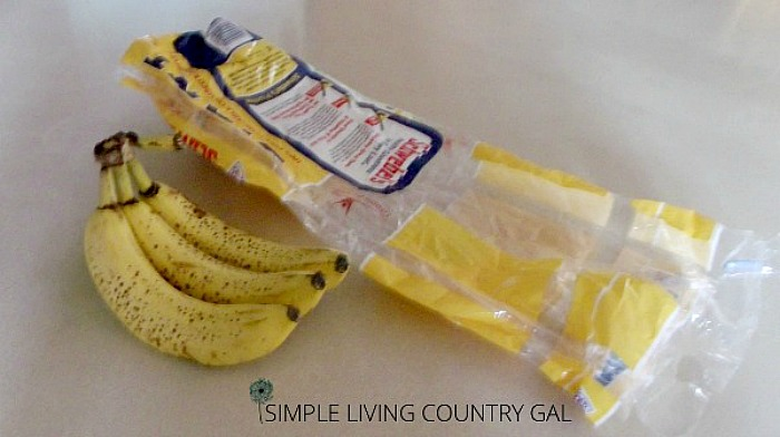 bananas and a bread back. How to remove fruit flies without chemicals
