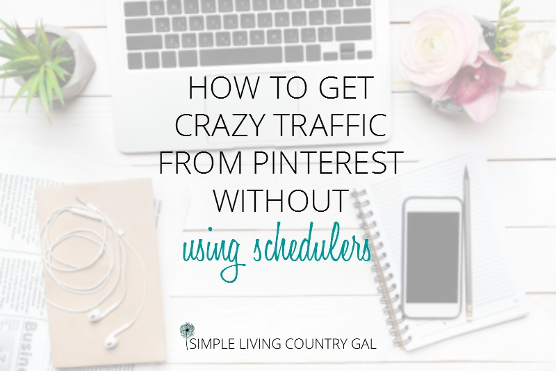 How To Get Crazy Pinterest Traffic Without Using Schedulers