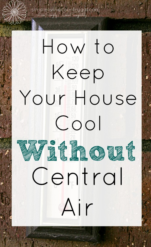 Keep cool without ac for Minimalist living what to keep