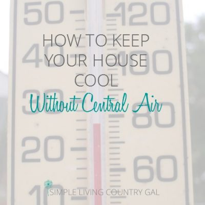 How to keep your house AC cool without central air! Pin now so you can read it later!