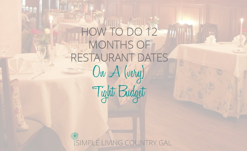 Out to Dinner Every Month Without Breaking Your Budget