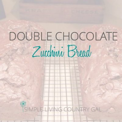 If you like chocolate, well you are going to love this bread, tastes just like a super moist brownie...no lie!