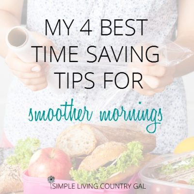 time saving tips for smoother mornings