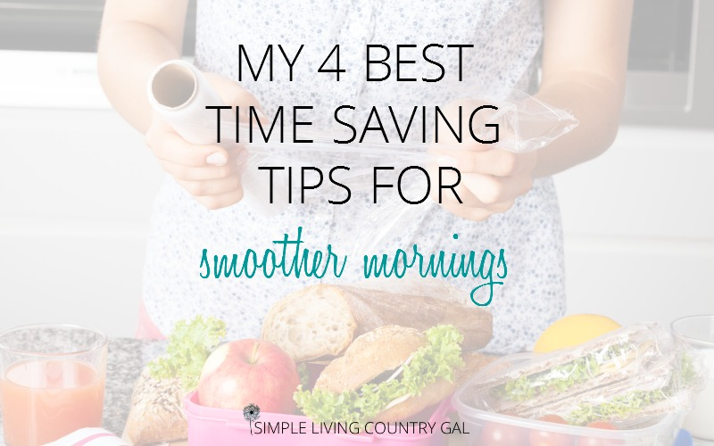 4 Time Saving Tips For Easier Back To School Mornings