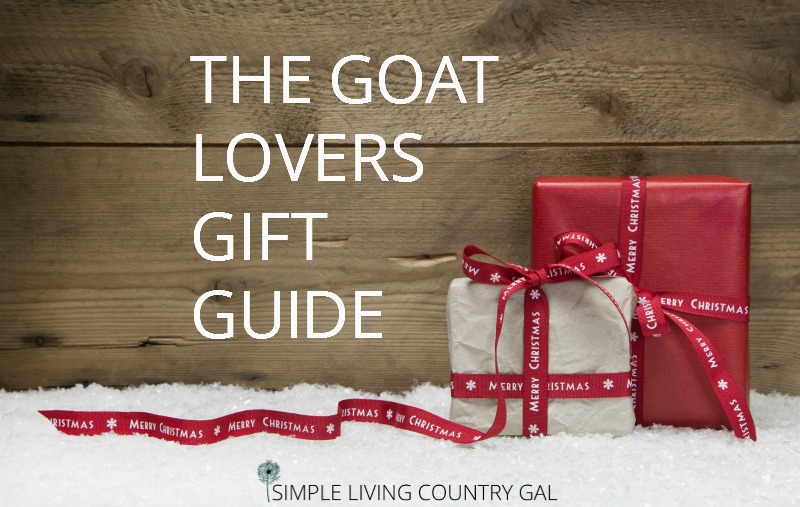 The Goat Lovers Gift Guide