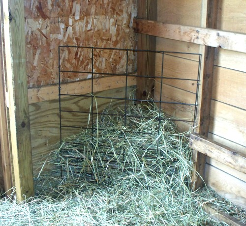 Hay Feeder Options For Goats | Simple Living Country Gal