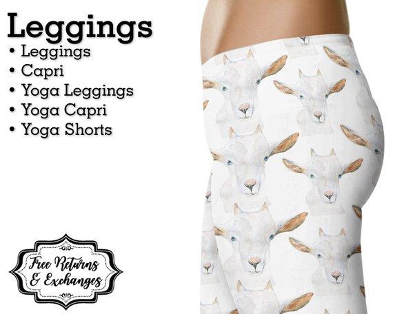 goat leggings, goat lovers gift guide