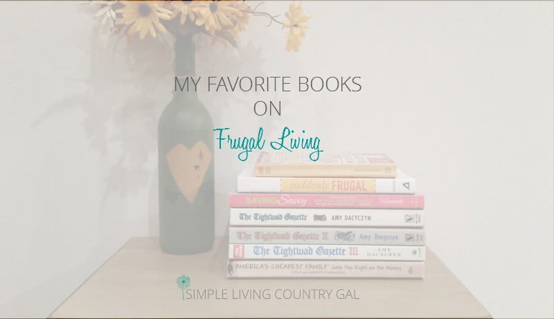 My Favorite Books On Frugal Living