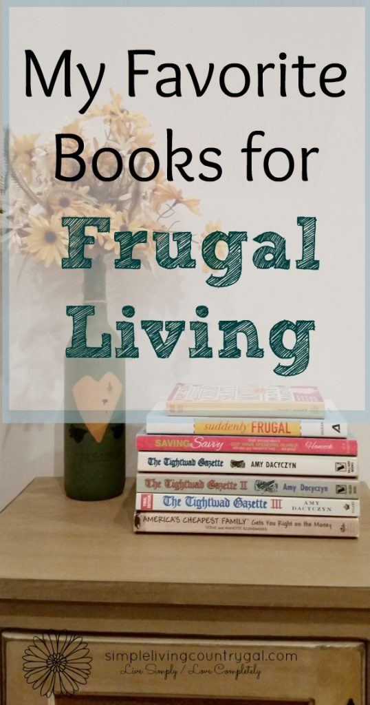 With so many books out there on Frugal Living it is hard to know which ones are best. Here is my list of my favorite books on living cheap!