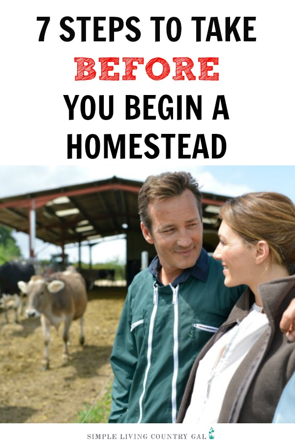 Before you commit to the homesteading life there are a few things you need to do to make sure you are ready. Simple yet important things that ensure you dive into your homesteading journey with your eyes wide open. #homesteading #homestead #farming #gardening #goats #chickens