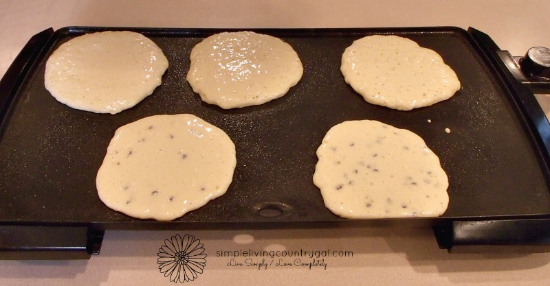 goat milk pancakes made from scratch, easy and delicious!