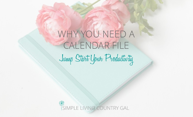 Why You Need A Calendar File