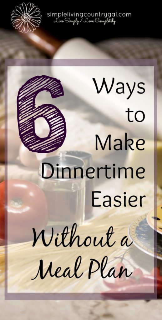Hate dinner time stress but just don't have the patience to make a meal plan? No worries! Follow these simple tips and make dinner time easier. Enjoy stress-free dinners from here on in. #dinnertime #mealplan #menu #dinnermenu