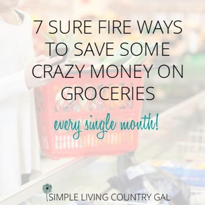 how to save crazy money on your grocery budget