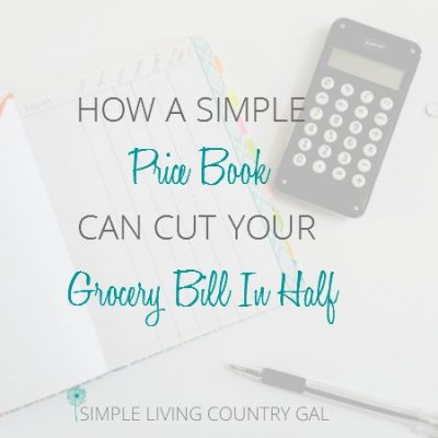 Use this free printable to create a price book and save hundreds on your grocery bill!