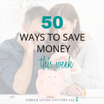 Are you living paycheck to paycheck and think you are doing everything you can to save money? This list of 50 things might just help you out and find a little extra cash you can use! #savemoney #money #frugallivingtips