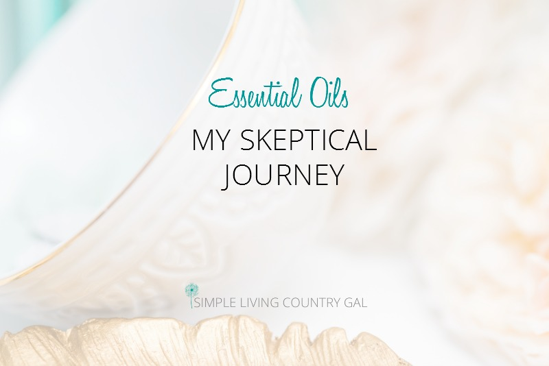 Essential Oils.  My Skeptical Journey.