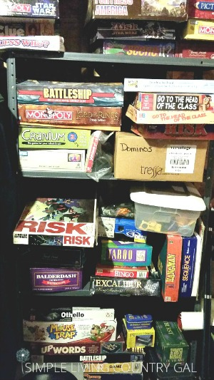 How to organize your board games and puzzles so that it's easy to use and keeps your items in good shape.