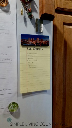 Follow these super simple tips to make an insanely effective shopping list. Save loads of time and money!