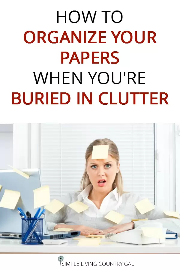 Paper clutter can quickly take over our homes, setting up systems to handle the paper will keep things organized and efficient and stop bills from being late. #paperclutter #organizepapers #papers
