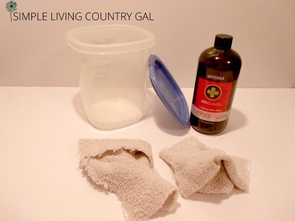diy homemade udder wash