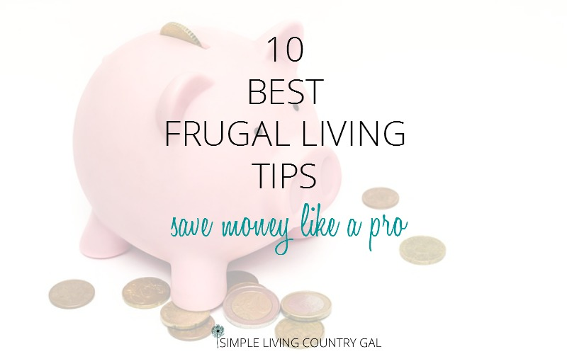 10 Best Frugal Living Tips. Save Money Like A Pro.
