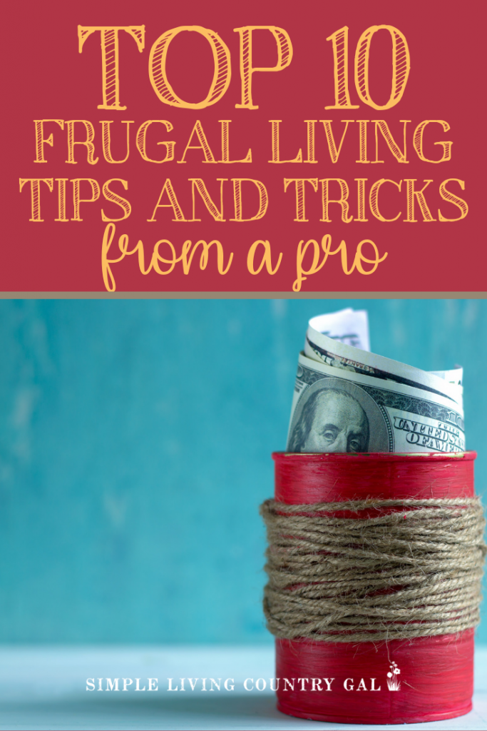 Learn to save money just by changing how you do a few things around the home. 10 incredibly powerful money-saving tips that will have you loving life again. Frugal living tips you can do today that are easy and money saving game changers. #frugallivingtips #frugalliving #simpleliving