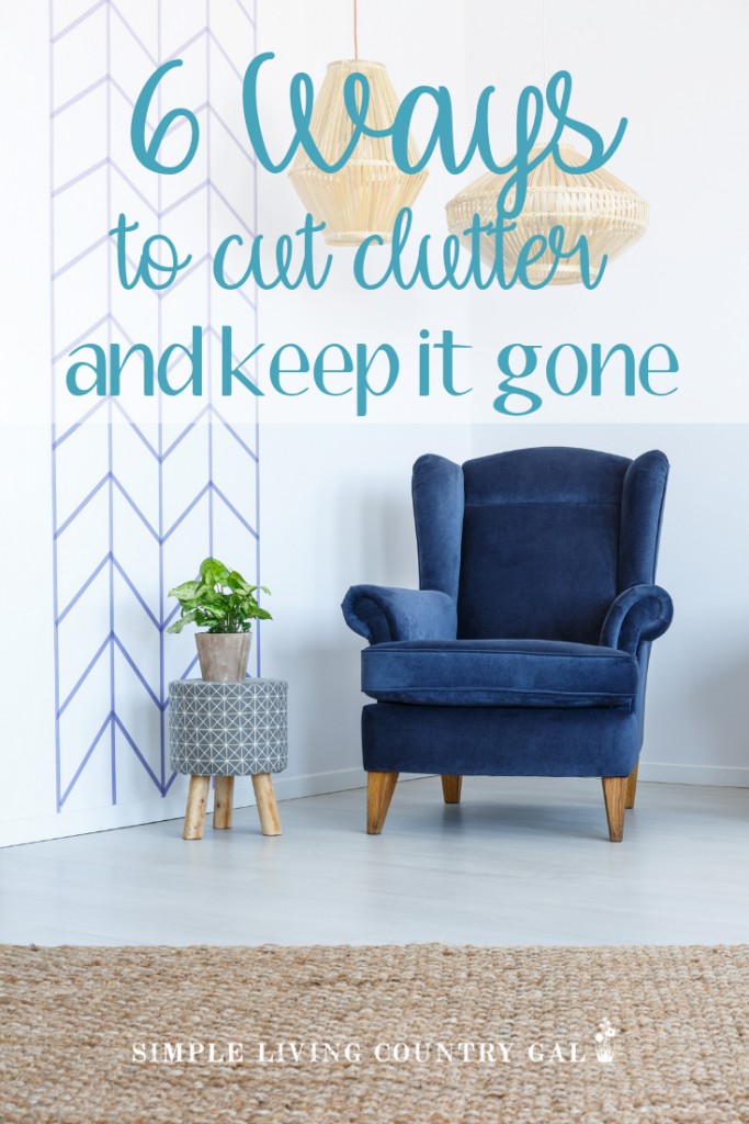 Frustrated with the clutter and mess in your home? Get unstuck with these tips on how you can remove the chaos right now without the stress and overwhelm. #declutter #clutter #organize