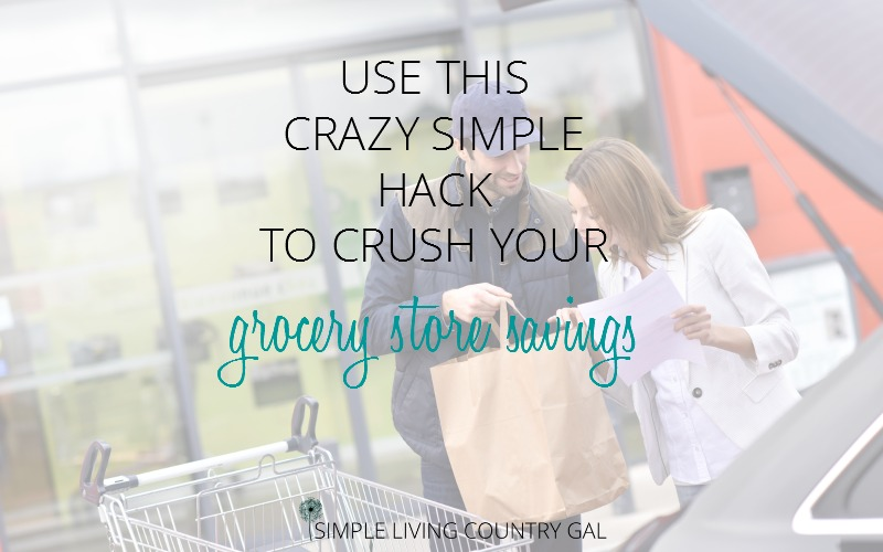 Use this simple hack to crush your grocery store savings