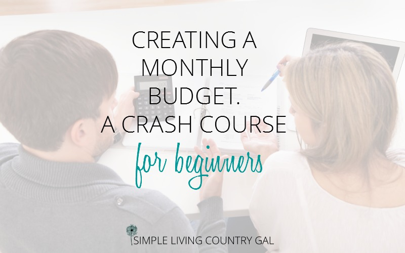 How To Make A Budget. A Crash Course For Beginners.
