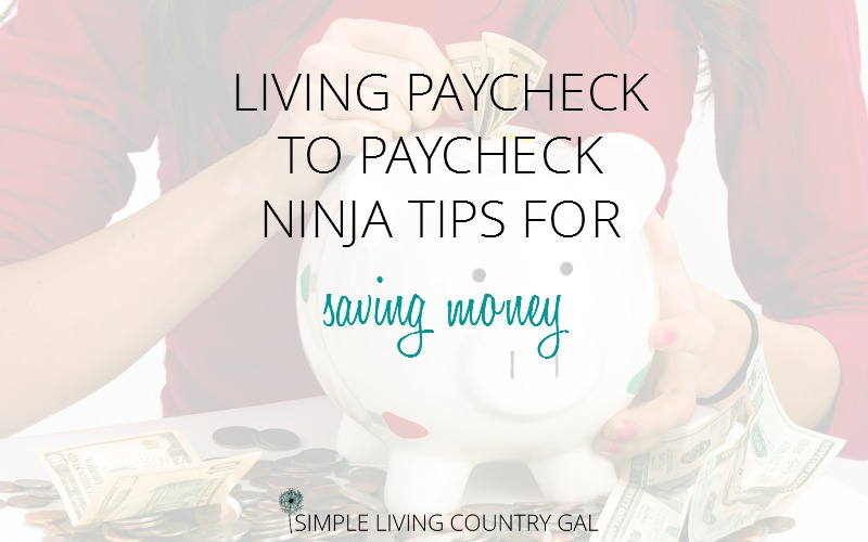 Thrifty Money Saving Tips to Help you Save Big
