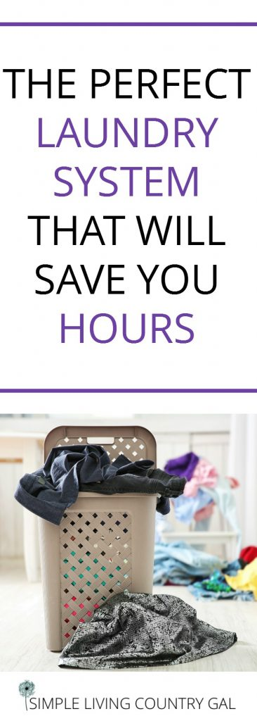time saving tips in the laundry room