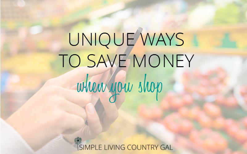 Try these unique and creative ways to save money shopping. Think you are doing all you can to save? Think again...there is even more help out there! Try these tips to save big the next time you shop. #grocerytips #savemoney #frugalshopping