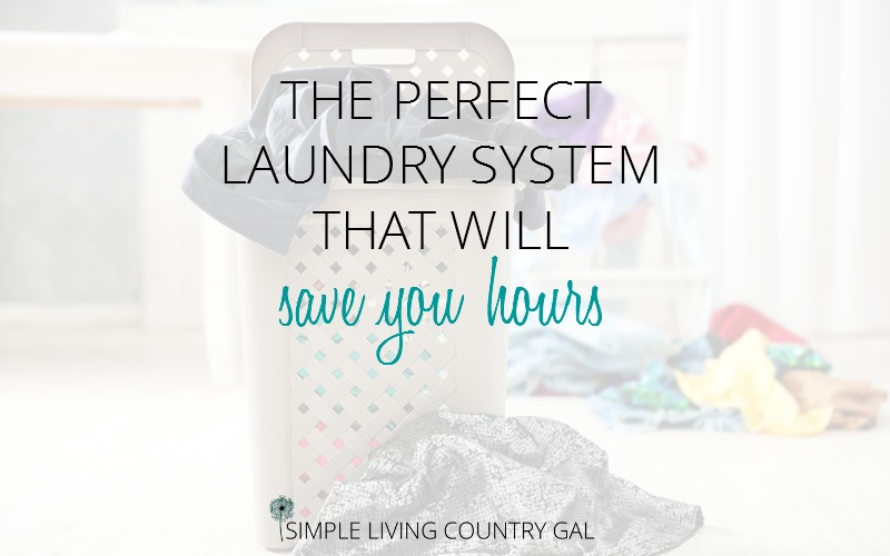 laundry system time saving tips