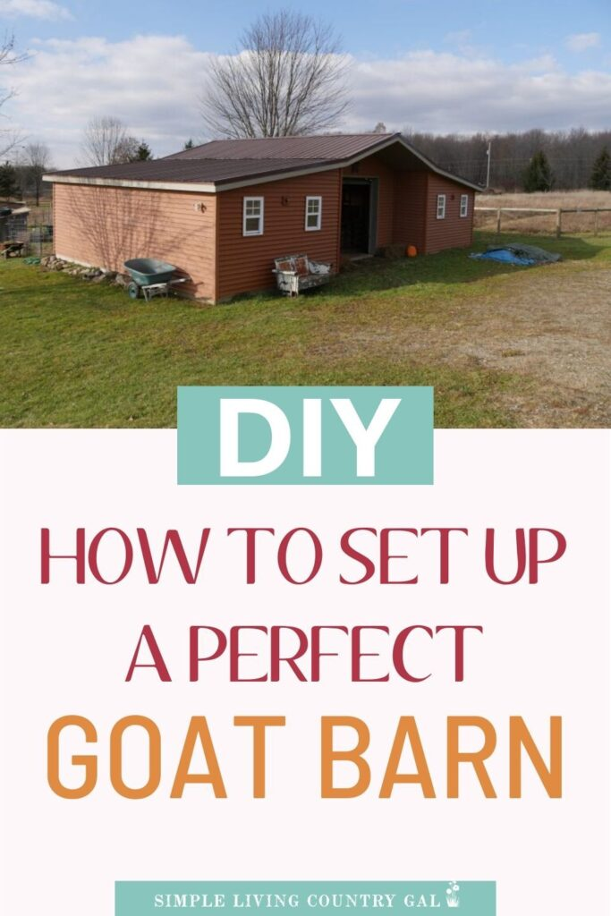 how to turn a shed into the perfect goat barn