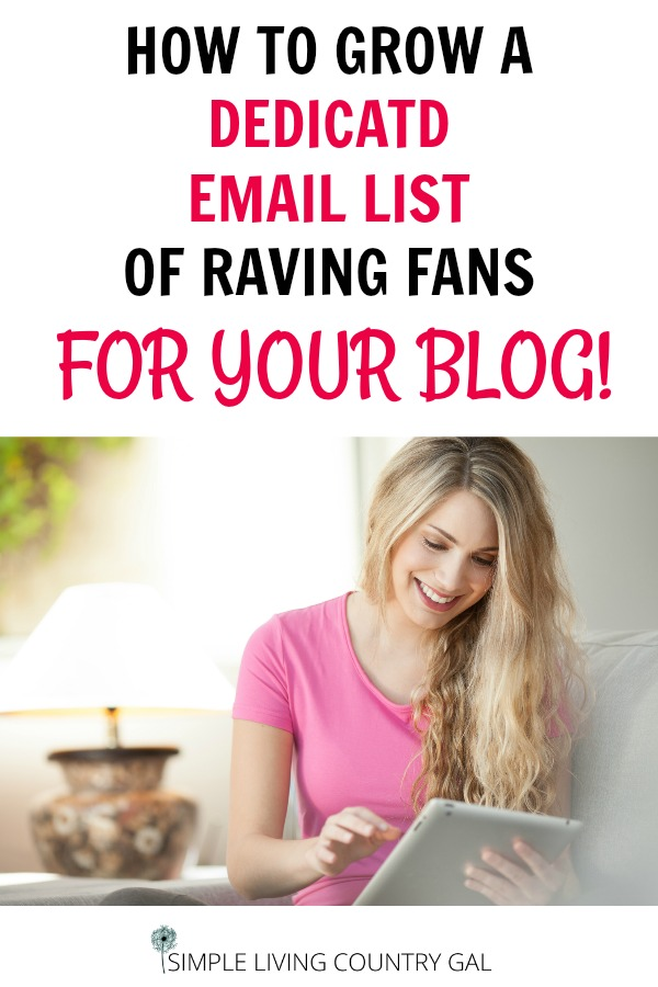 Do you want to know how to grow a dedicated email list of raving fans that want to read what you have to say and buy what you have to sell? Here is your step by step guide of how I did that very thing! #blog #howtoblog #emaillist