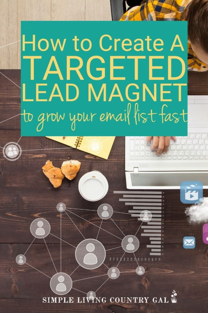Do you want to know how to grow a dedicated email list of raving fans that want to read what you have to say and buy what you have to sell? All you need is a targeted lead magnet. Something your readers would die for! But how do you make one of those? Here is your step by step guide of how I did that very thing! #blog #howtoblog #emaillist