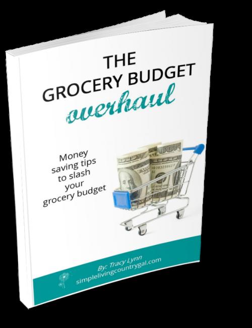 grocery budget overhaul