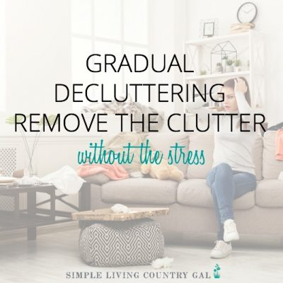 how to live clutter free