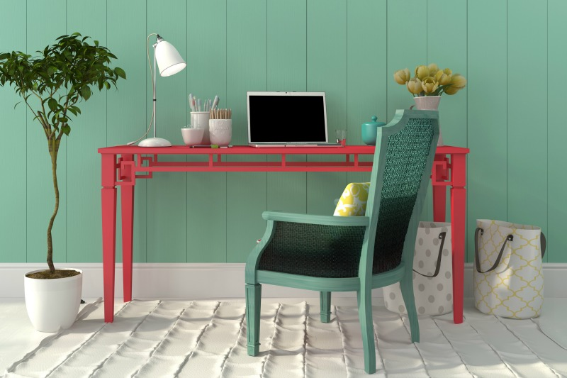 a home office. How to set up a home office