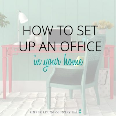 HOW TO SET UP A HOME OFFICE IN YOUR HOME