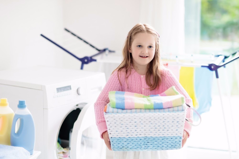Cleaning hacks everyone should know. Children and chores to help with cleaning the house
