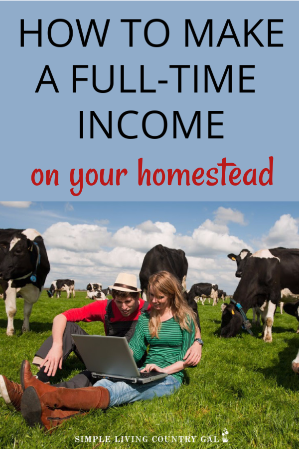 Do you love to garden and raise animals and desperately want to learn how to do this from home and make money too? Then this list might just help. My top 5 ways that I make money on my homestead and how I make a full-time income doing what I love. Yes, I make bank raising goats and chickens and now you can too! #makemoneyhomesteading #makemoney #slcg